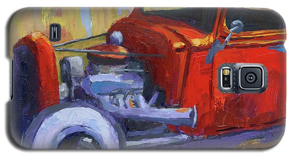 Hot Rod Chevy Truck Galaxy S5 Case