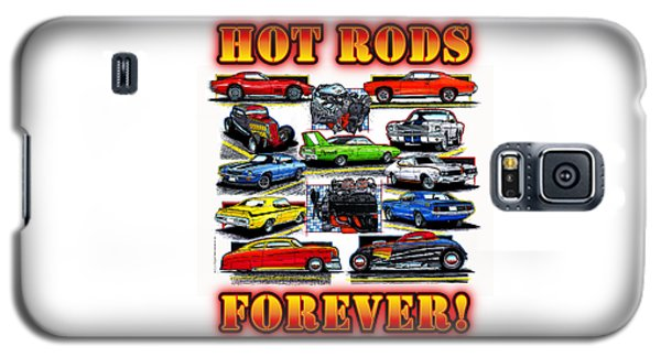 Hot Rods Forever Galaxy S5 Case