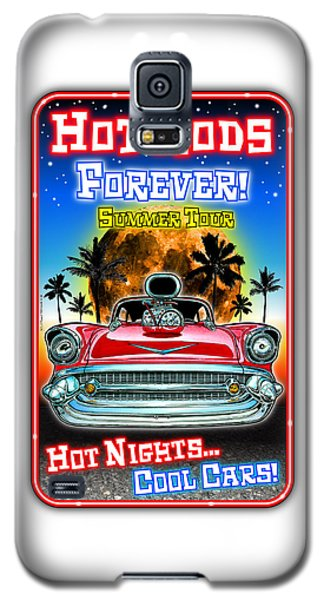 Hot Rods Forever Summer Tour Galaxy S5 Case