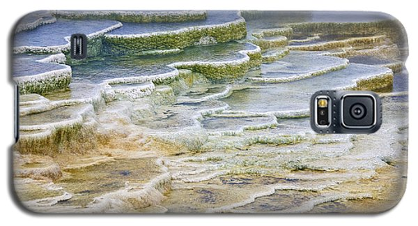 Galaxy S5 Case featuring the photograph Hot Springs Runoff by Gary Lengyel