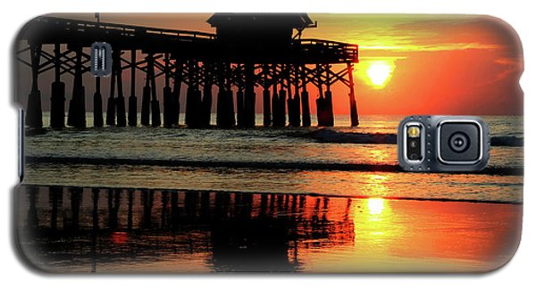Hot Sunrise Over Cocoa Beach Pier  Galaxy S5 Case