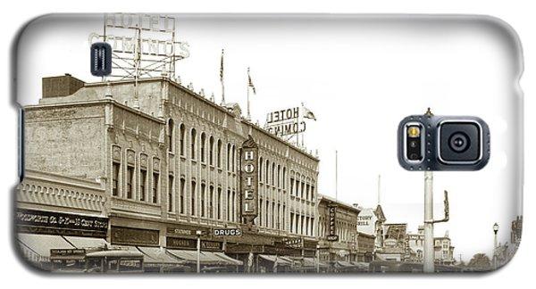 Hotel Cominos On Main Street In Salinas, Calif. Circa 1932 Zan Stark Photo # 423  Galaxy S5 Case