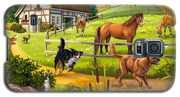 House Animals Galaxy S5 Case