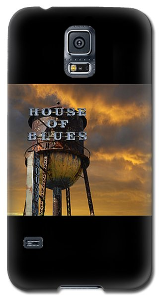 Galaxy S5 Case featuring the photograph House Of Blues  by Laura Fasulo