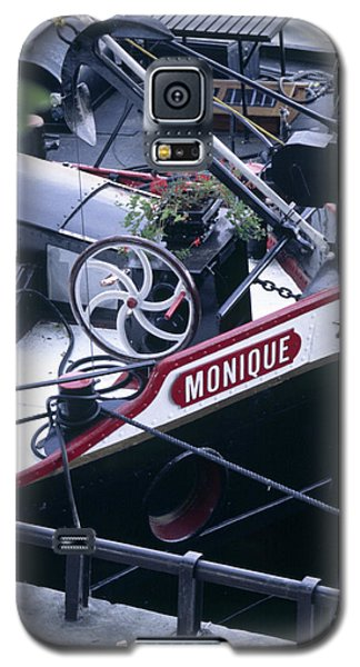 Houseboat In France Galaxy S5 Case
