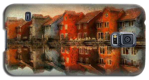 Houses By The Sea Galaxy S5 Case by Kai Saarto
