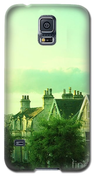 Galaxy S5 Case featuring the photograph Houses by Jill Battaglia