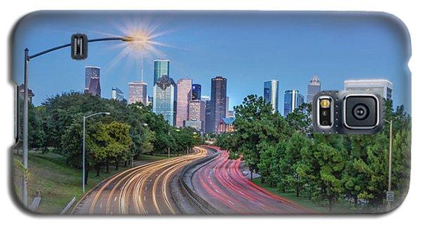 Houston Evening Cityscape Galaxy S5 Case