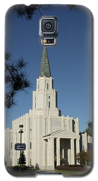 Houston Lds Temple Galaxy S5 Case