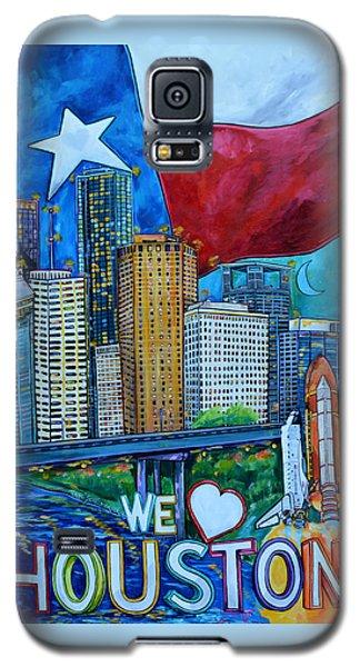 Houston Montage Galaxy S5 Case by Patti Schermerhorn