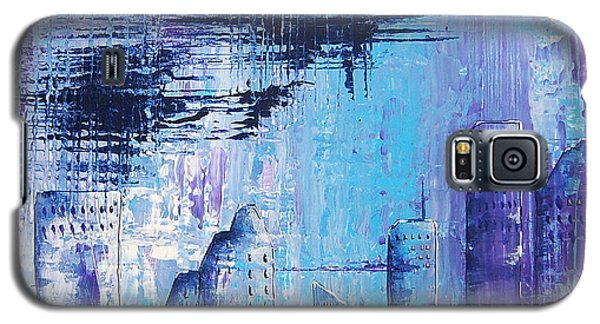 Houston Skyline 1 Galaxy S5 Case