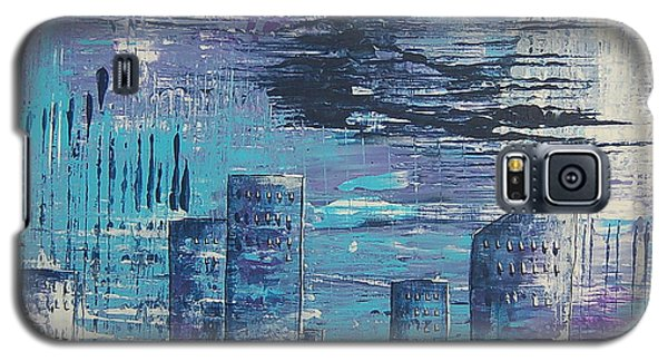 Houston Skyline 2 Galaxy S5 Case