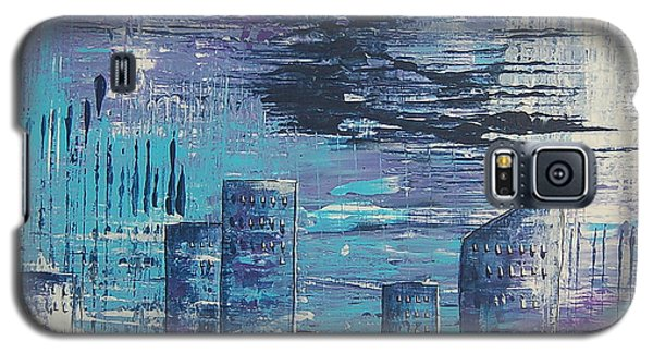 Houston Skyline 2 Galaxy S5 Case