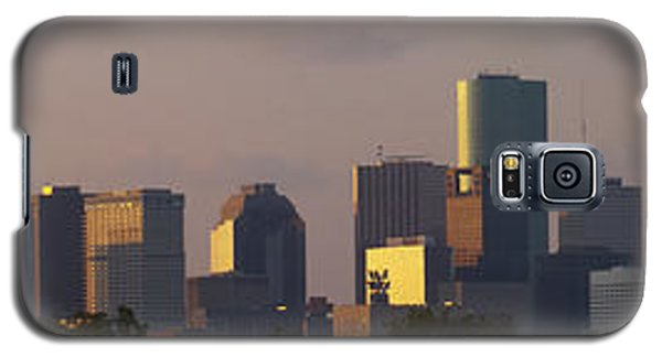Houston Sunset Galaxy S5 Case by Joshua House