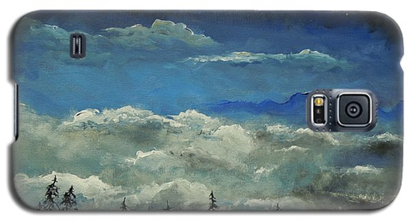 Galaxy S5 Case featuring the painting How Majestic Is Your Name by Dan Whittemore