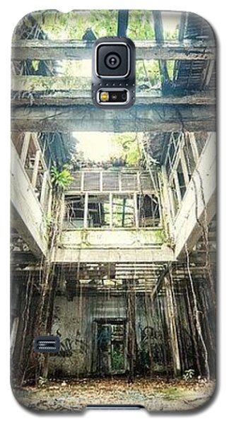 Galaxy S5 Case featuring the photograph How Long Was I Really Away / Art Abstract by Sheila Mcdonald