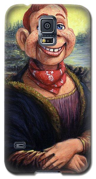Galaxy S5 Case featuring the painting Howdy Doovinci by James W Johnson