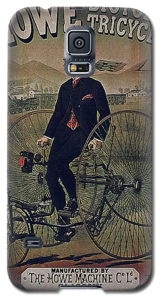 Howe Bicycles Tricycles Vintage Cycle Poster Galaxy S5 Case