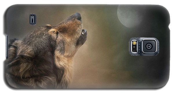 Howling At The Moon Galaxy S5 Case