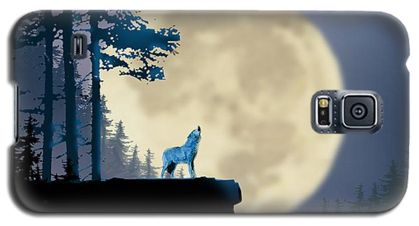 Howling Coyote Galaxy S5 Case