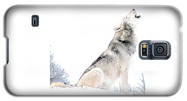 Howling Wolf 1 Galaxy S5 Case