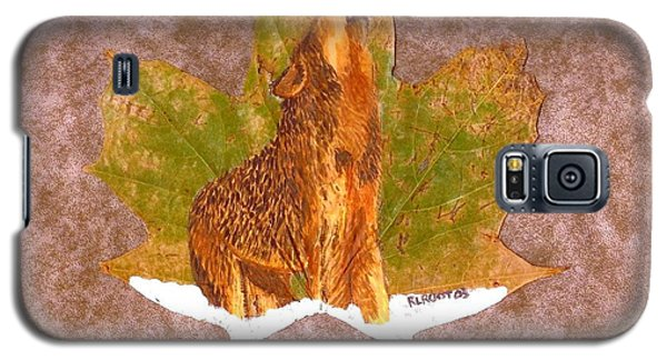 Howling Wolf Galaxy S5 Case by Ralph Root