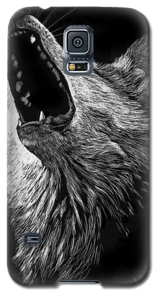 Howling Wolf Galaxy S5 Case