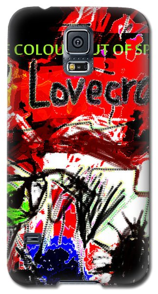 Hp Lovecraft Poster  Galaxy S5 Case