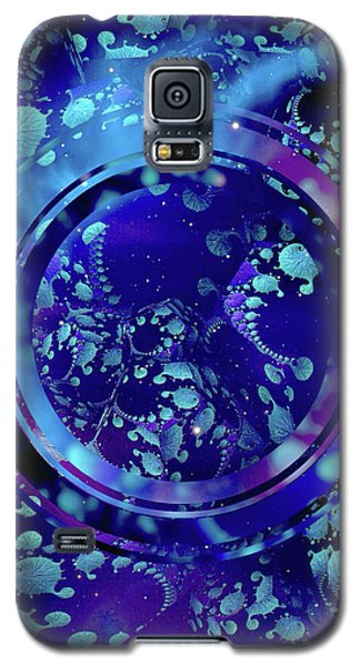 Galaxy S5 Case featuring the painting Hubble 3014 by Susan Maxwell Schmidt