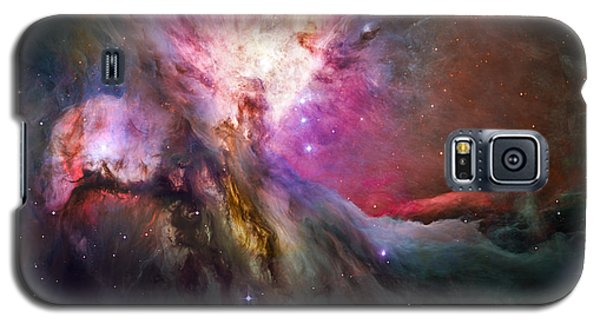 Hubble's Sharpest View Of The Orion Nebula Galaxy S5 Case by Adam Romanowicz