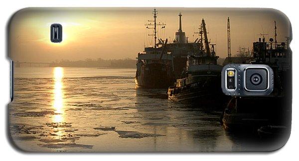 Huddled Boats Galaxy S5 Case