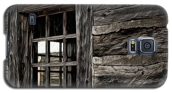 Galaxy S5 Case featuring the photograph Hudson Bay Fort Window by Brad Allen Fine Art
