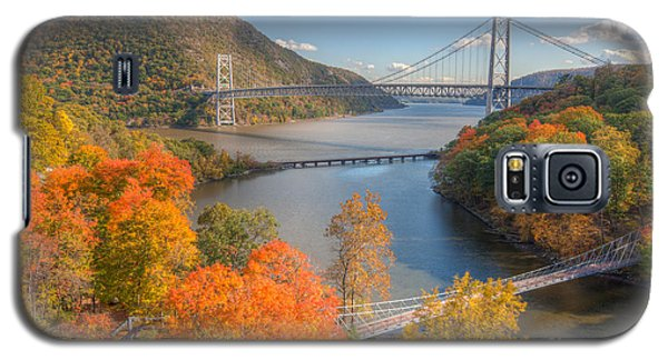 Hudson River And Bridges Galaxy S5 Case