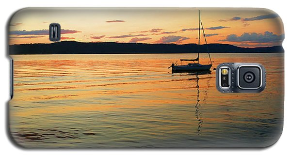 Hudson River From Irvington In Westchester County Galaxy S5 Case