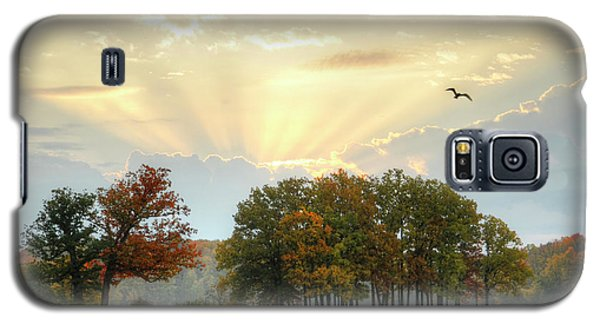 Galaxy S5 Case featuring the photograph Hudson Springs Morning by Ann Bridges