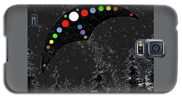 Galaxy S5 Case featuring the painting Hudson Valley Ufo by James Williamson