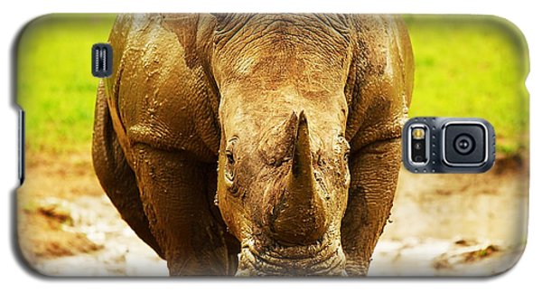 Huge South African Rhino Galaxy S5 Case