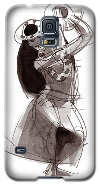 Hula Dancer Alika Galaxy S5 Case