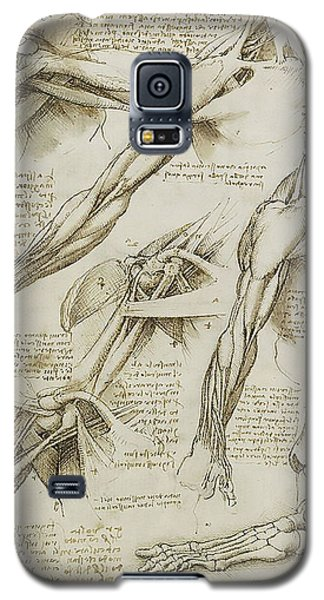 Human Arm Study Galaxy S5 Case by James Christopher Hill