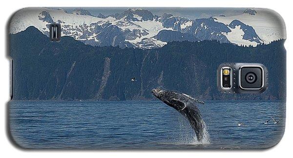 Humback Whale Full Breach Galaxy S5 Case