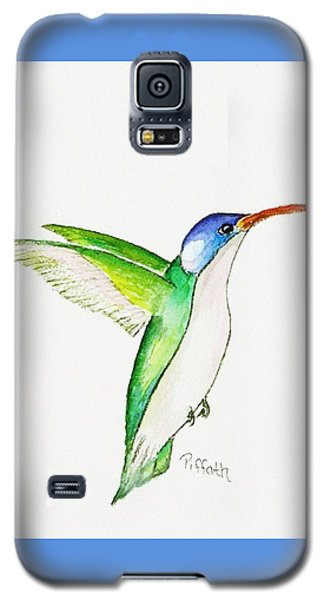 Galaxy S5 Case featuring the painting Hummer by Patricia Piffath