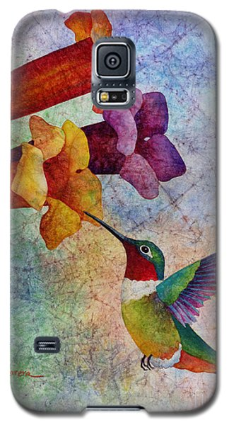 Galaxy S5 Case featuring the painting Hummer Time by Hailey E Herrera