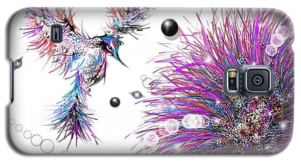 Humming Bird And Flower Galaxy S5 Case