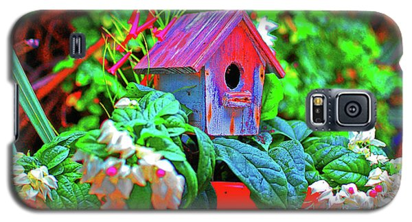 Humming Bird House Galaxy S5 Case