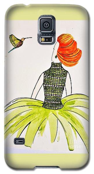 Hummingbird Admirer Galaxy S5 Case