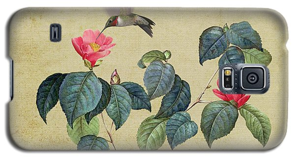 Hummingbird And Japanese Camillea Galaxy S5 Case