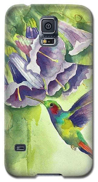 Hummingbird And Trumpets Galaxy S5 Case