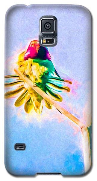 Hummingbird Art - Energy Glow Galaxy S5 Case