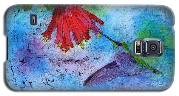 Hummingbird Batik Watercolor Galaxy S5 Case