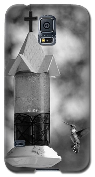 Hummingbird - Bw Galaxy S5 Case